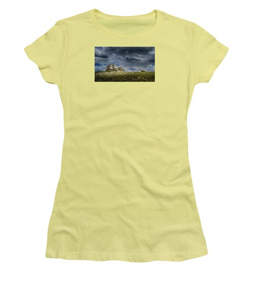 Stormy Peak 1 Women's T-Shirt (Athletic Fit)