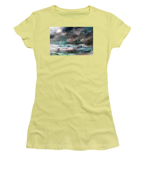 Stormy Sky Women's T-Shirt (Athletic Fit)
