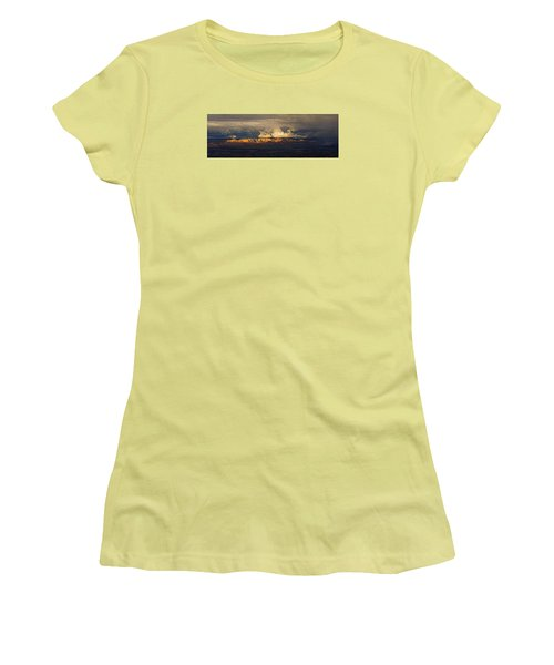Stormy Skyscape Women's T-Shirt (Athletic Fit)