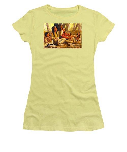 Story Teller Women's T-Shirt (Athletic Fit)