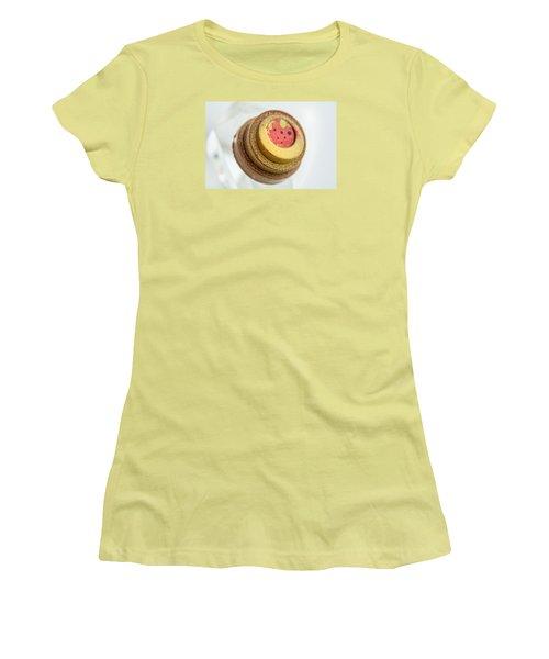 Strawberry Strawberry Women's T-Shirt (Junior Cut) by Sabine Edrissi