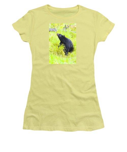 Stretch Women's T-Shirt (Junior Cut) by Harold Piskiel