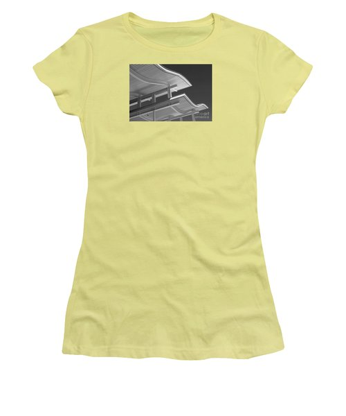 Structure Abstract 6 Women's T-Shirt (Athletic Fit)