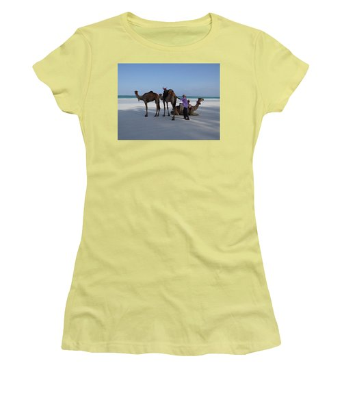 Stubborn Wedding Camels Women's T-Shirt (Athletic Fit)