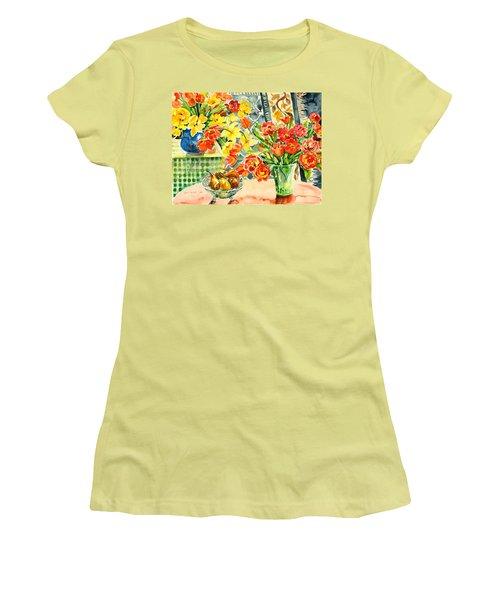Studio Still Life Women's T-Shirt (Junior Cut) by Alexandra Maria Ethlyn Cheshire