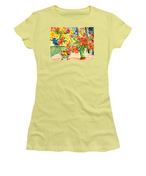 Studio Still Life Women's T-Shirt (Athletic Fit)