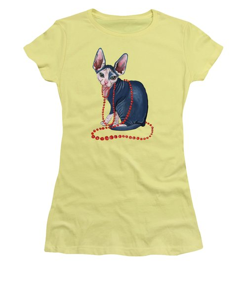 Stylish Sphynx Women's T-Shirt (Athletic Fit)