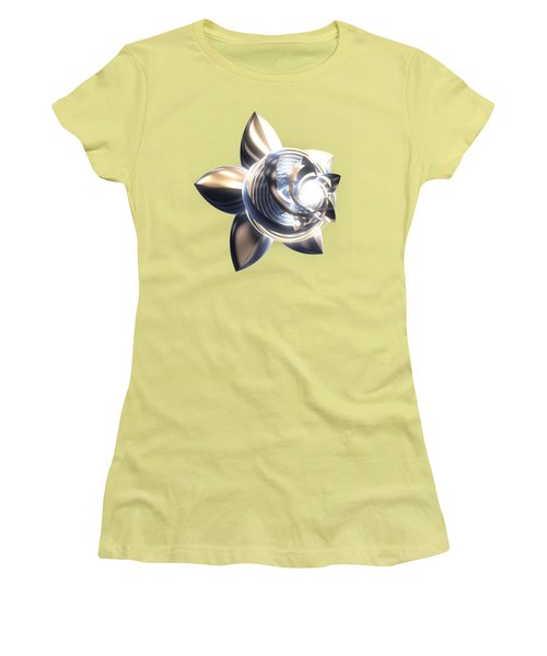 Stylized Abstract Light Women's T-Shirt (Athletic Fit)
