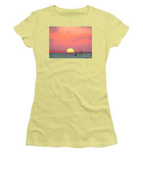 Submerge  Women's T-Shirt (Junior Cut) by Expressionistart studio Priscilla Batzell