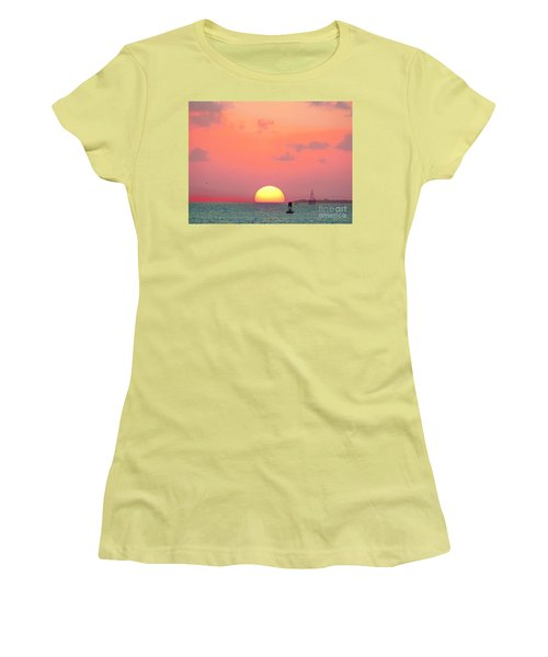 Submerge  Women's T-Shirt (Athletic Fit)