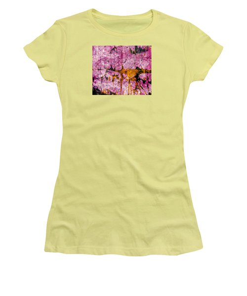 Submit A Dance   Women's T-Shirt (Junior Cut) by Fania Simon