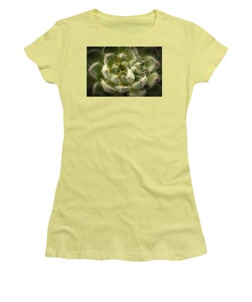Succulent Pride  Women's T-Shirt (Junior Cut) by Catherine Lau