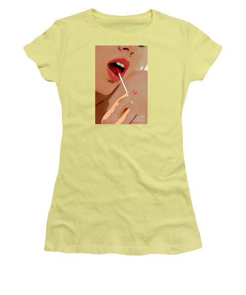 Sucker Women's T-Shirt (Athletic Fit)