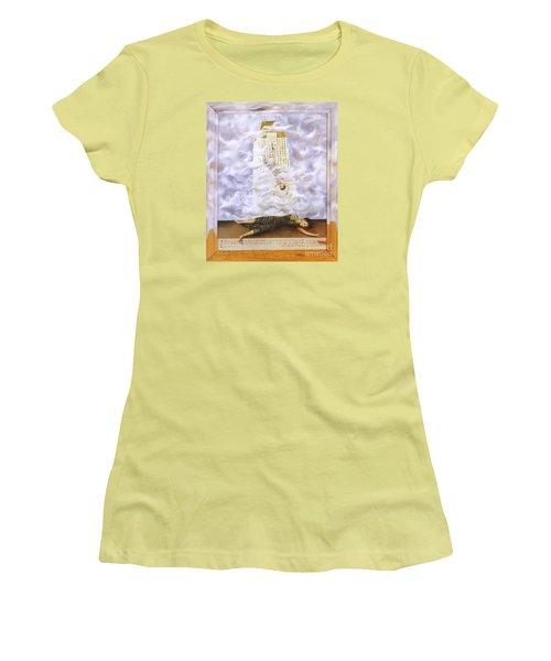 Suicide Of Dorothy Hale Women's T-Shirt (Junior Cut) by Frida Kahlo
