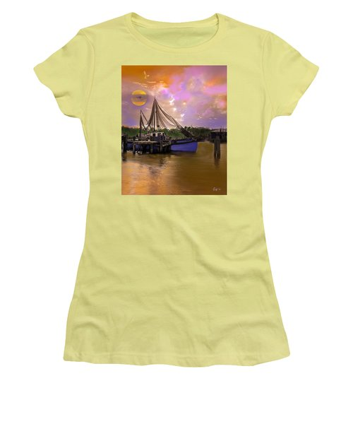 Sultry Bayou Women's T-Shirt (Junior Cut) by J Griff Griffin