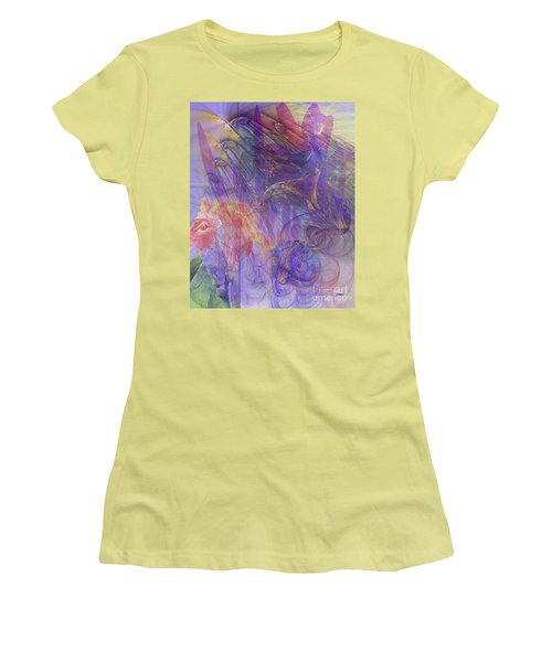 Summer Awakes Women's T-Shirt (Athletic Fit)