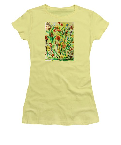 Summer Ends Women's T-Shirt (Junior Cut) by Mary Carol Williams