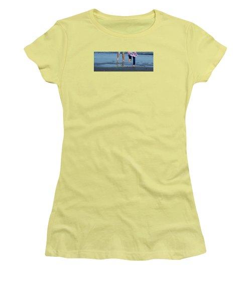 Summer Feet   #3 Women's T-Shirt (Junior Cut) by Margie Avellino