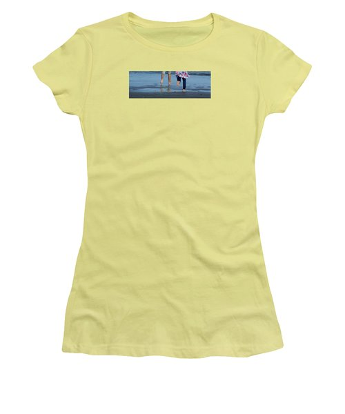 Summer Feet   #3 Women's T-Shirt (Athletic Fit)
