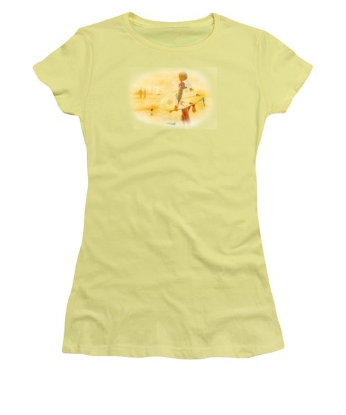 Summer II Women's T-Shirt (Junior Cut) by Chris Armytage