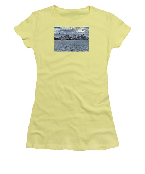 Summer In Seattle Women's T-Shirt (Athletic Fit)