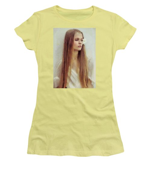 Summer Innocence Women's T-Shirt (Junior Cut) by Gun Legler