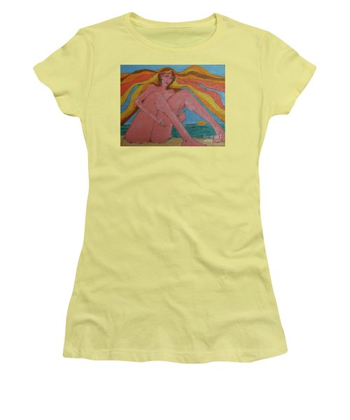 Summer Ocean Breeze  Women's T-Shirt (Athletic Fit)
