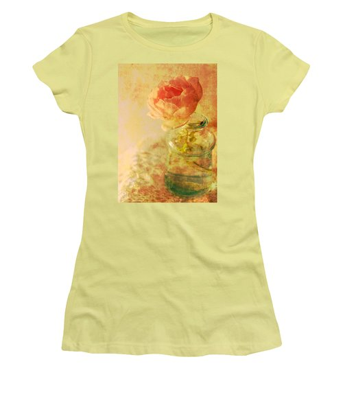 Summer Rose Women's T-Shirt (Athletic Fit)