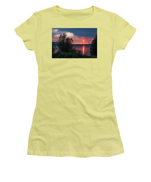 Summer Storm Women's T-Shirt (Athletic Fit)
