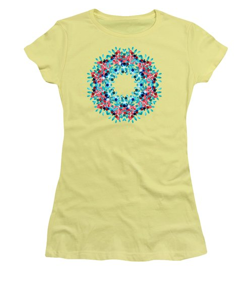 Summer Wreath Women's T-Shirt (Athletic Fit)