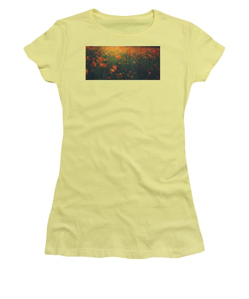 Women's T-Shirt (Junior Cut) featuring the photograph Summertime by Shane Holsclaw