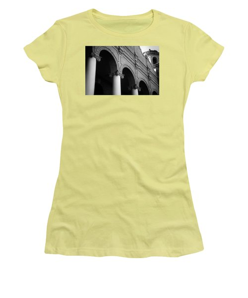 Women's T-Shirt (Junior Cut) featuring the photograph Sumter County Courthouse by Richard Rizzo
