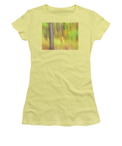 Sun Kissed Tree Women's T-Shirt (Junior Cut) by Bernhart Hochleitner
