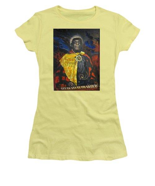 Blue Cat Productions            Sun-ra - Jazz Artist Women's T-Shirt (Athletic Fit)