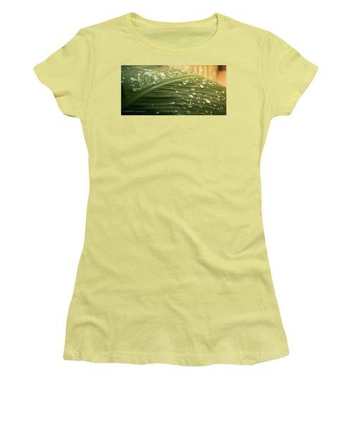 Sun Shower Women's T-Shirt (Junior Cut) by Stefanie Silva