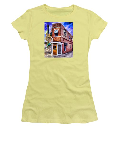 Sun Studio Women's T-Shirt (Junior Cut) by Dennis Cox WorldViews
