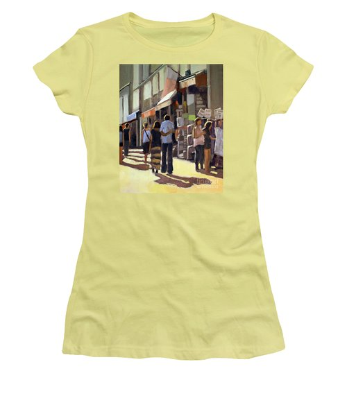 Sunday Bazaar Women's T-Shirt (Athletic Fit)