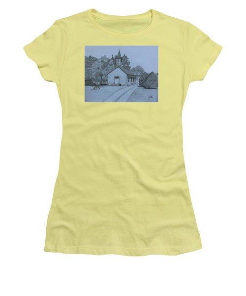 Sunday In Fairview  Women's T-Shirt (Junior Cut) by Tony Clark