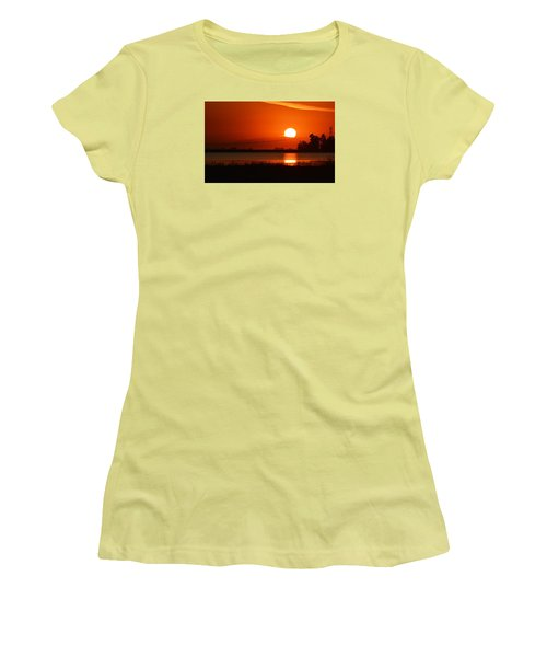 Sundown Women's T-Shirt (Junior Cut) by AJ  Schibig