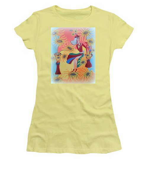 Sunflower's Contessa  Women's T-Shirt (Athletic Fit)