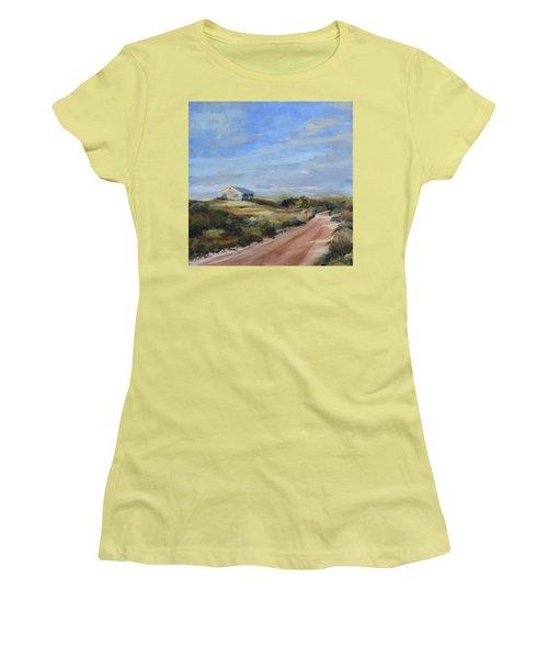 Sunlight's Coming Women's T-Shirt (Junior Cut) by Trina Teele