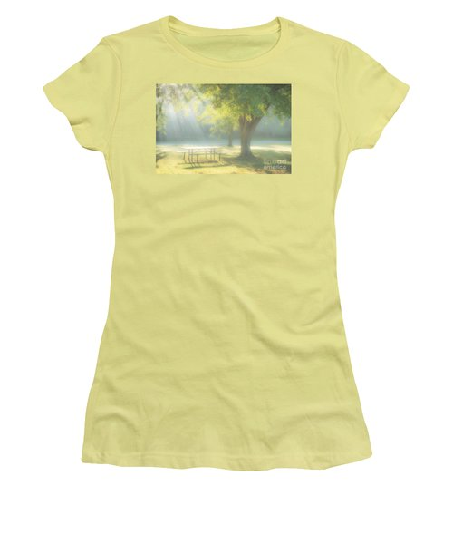 Sunlit Morning Women's T-Shirt (Athletic Fit)