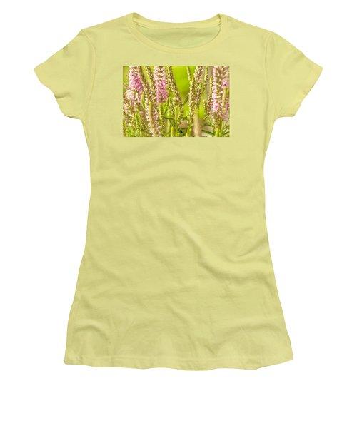 Sunny Lupine Women's T-Shirt (Junior Cut) by Bonnie Bruno