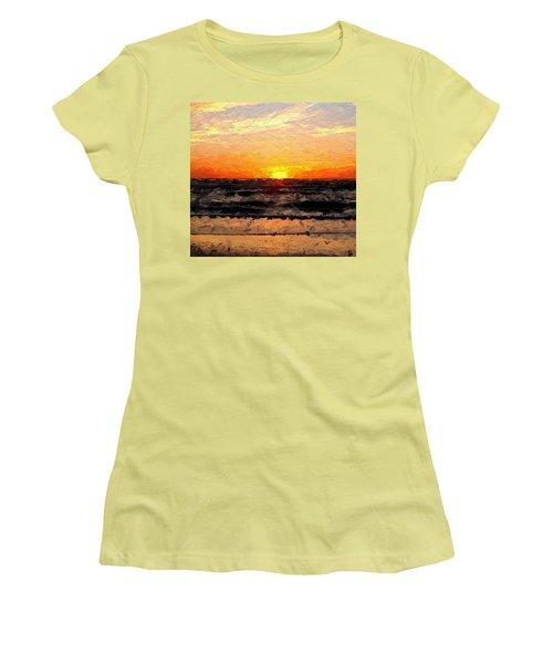 Sunrise Women's T-Shirt (Junior Cut) by Anthony Fishburne