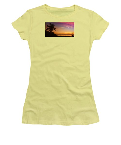 Sunrise Color Women's T-Shirt (Junior Cut)