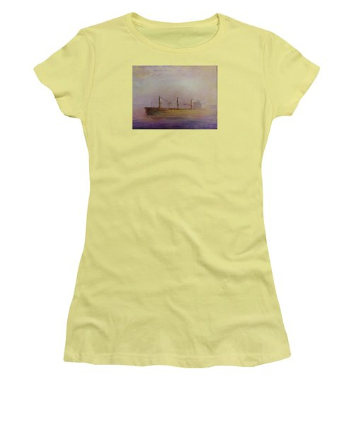 Sunrise Gold Women's T-Shirt (Athletic Fit)