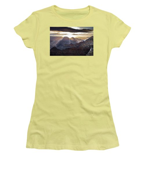 Sunrise Grand Canyon Women's T-Shirt (Athletic Fit)