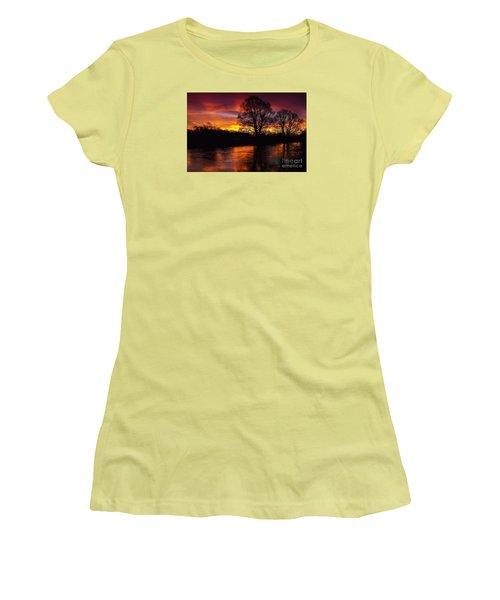 Sunrise II Women's T-Shirt (Athletic Fit)