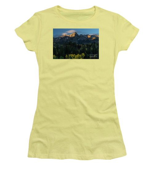 Sunrise In Colorado - 8689 Women's T-Shirt (Athletic Fit)