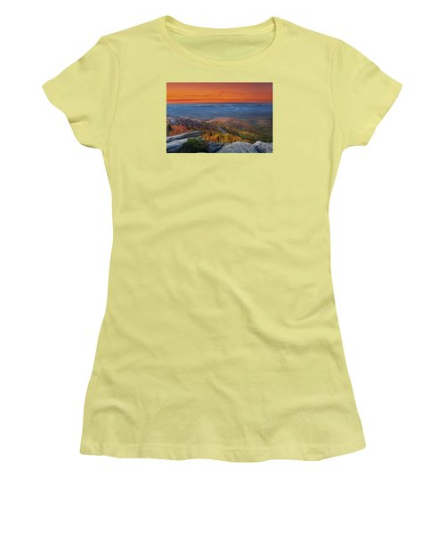 Sunrise On Rough Ridge  Women's T-Shirt (Athletic Fit)